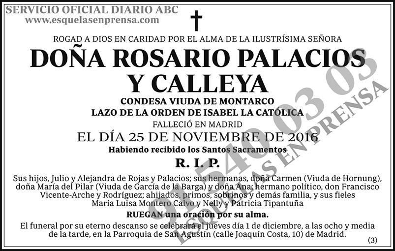 Rosario Palacios y Calleya